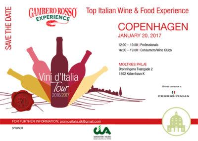 Marotti Campi Gambero Rosso tasting Copenaghen Lacrima Verdicchio