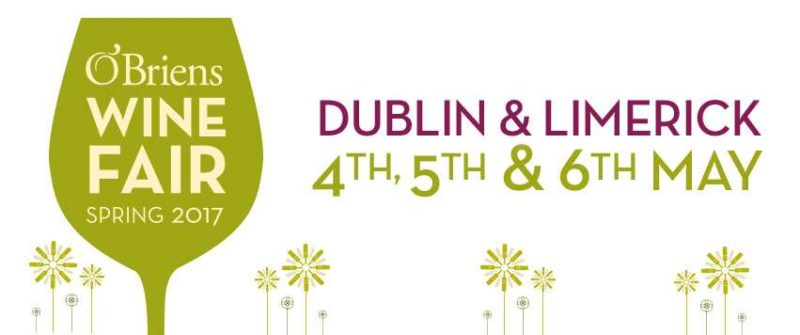 Dublin O'Briens Wine fair Marotti Campi Verdicchio and Lacrima di Morro