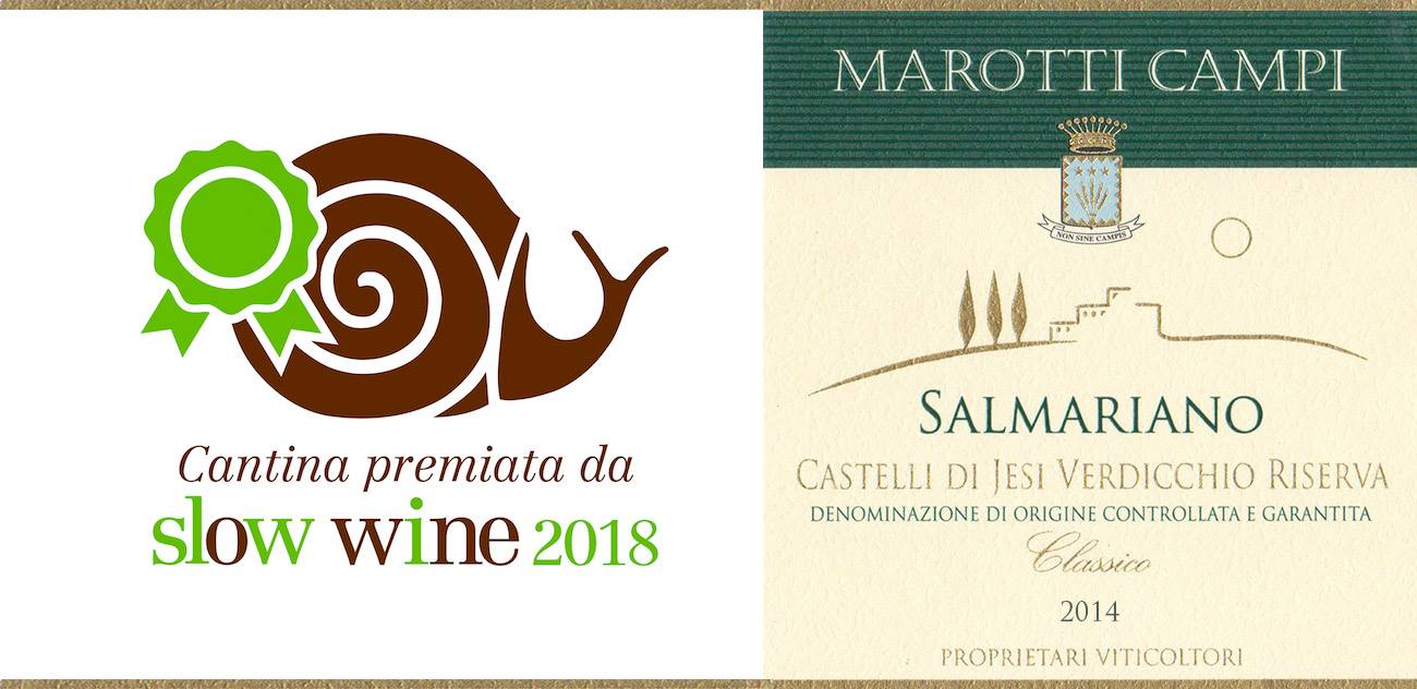 Salmariano Slow Wine 2018 Grande Vino