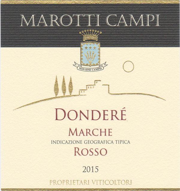 Donderè Marche IGT Rosso Marotti Campi