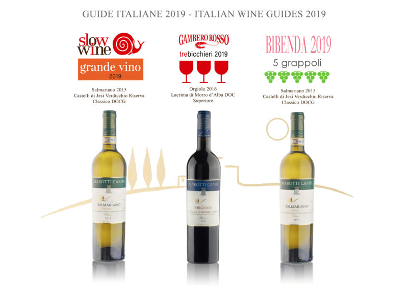 Marotti Campi Lacrima and Verdicchio 2019 awards