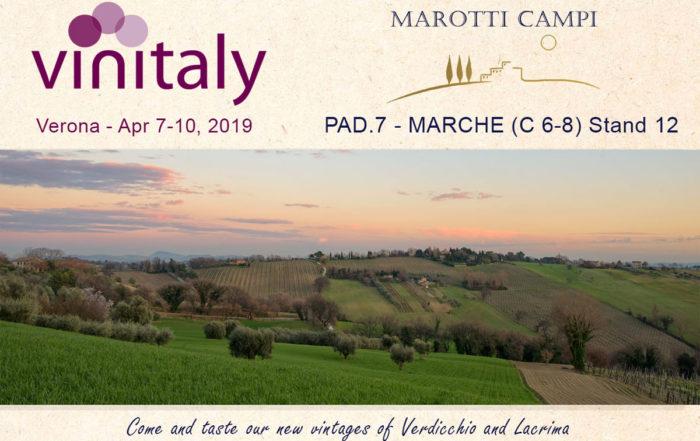 Vinitaly 2019 Verona April 7-19 Marotti Campi