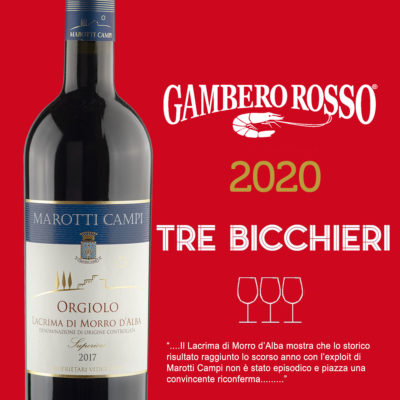 TRE-BICCHIERI-GAMBERO-ROSSO-2020-LACRIMA-DI-MORRO-D'ALBA-MAROTTI-CAMPI